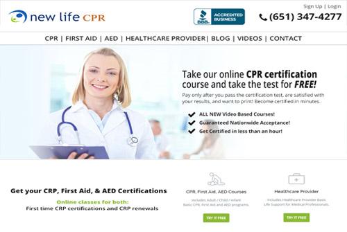 Newlife CPR Mockup 4