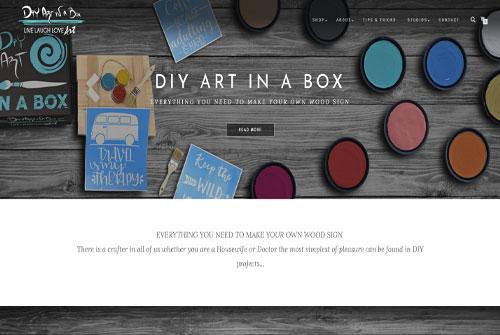 DIY Art In A Box
